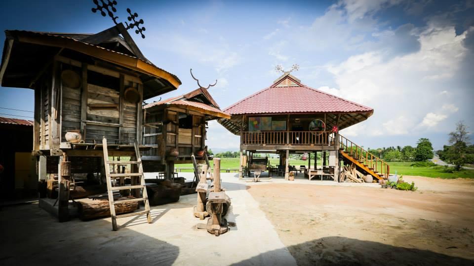 หมู่บ้านวัฒนธรรมไทดำ-บรรยากาศ