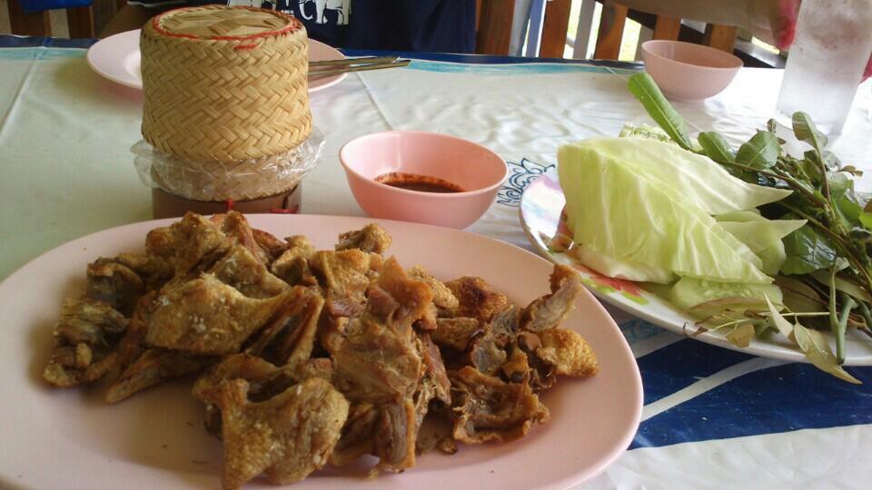 เป็ดย่างคูเมือง -กินกับข้าวเหนียวอร่อยๆ