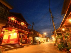 เฮือนเก่าเมืองเชียงคาน-บรรยากาศ