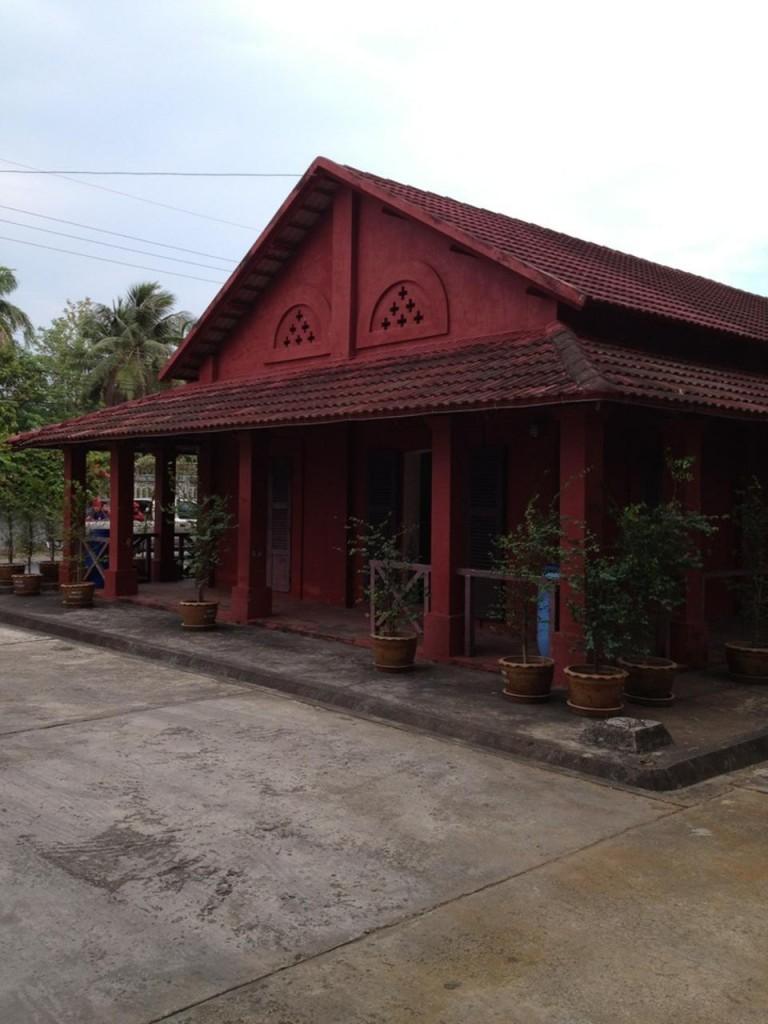 ตึกแดง-ตัวอาคาร