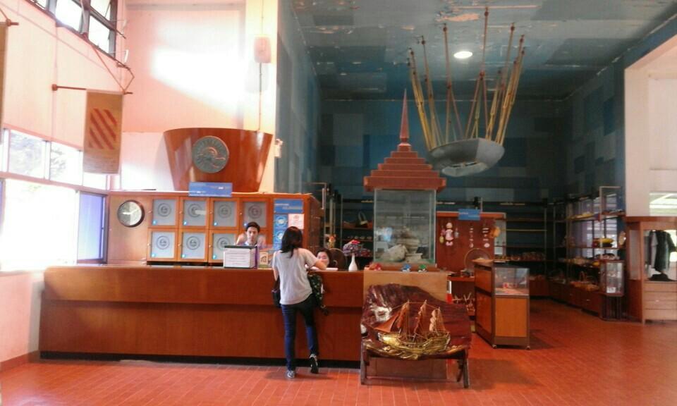 พิพิธภัณฑสถานแห่งชาติ พาณิชย์นาวี-บรรยากาศภายใน