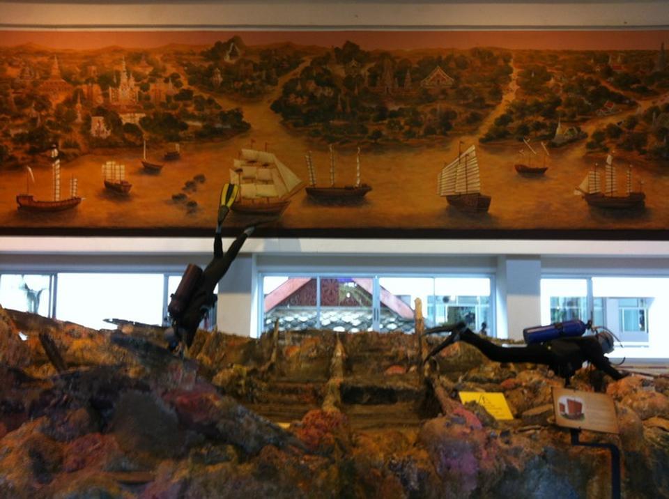 พิพิธภัณฑสถานแห่งชาติ พาณิชย์นาวี-ภายใน