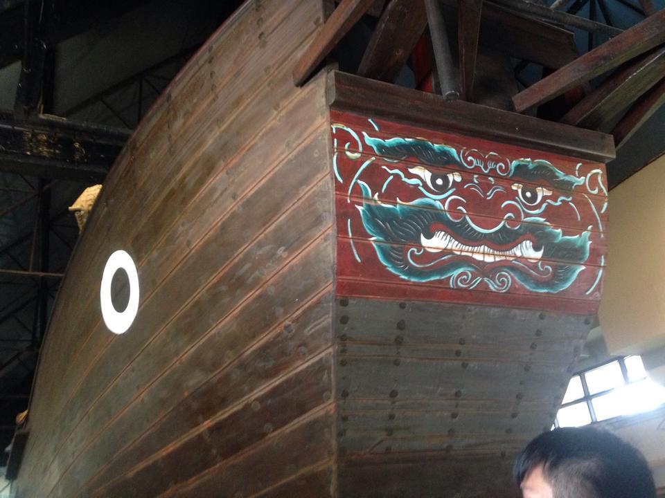 พิพิธภัณฑสถานแห่งชาติ พาณิชย์นาวี-เรือ