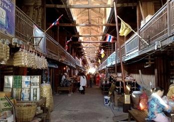 10 ที่เที่ยวฮิตในสุพรรณบุรี-ตลาดเก้าห้อง