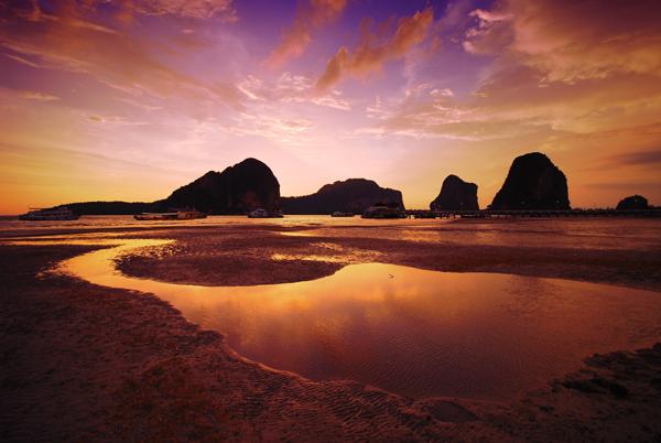 10 ที่เที่ยวเเสนสวยของตรัง-หาดปากเมง