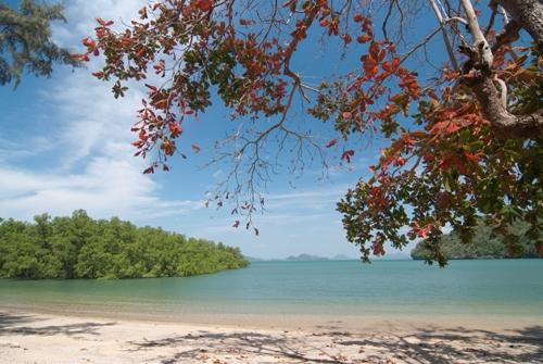 10 สถานที่เเสนงดงามของสตูล-หาดอ่าวนุ่น